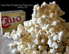 Think of a trip to the cinema, big screen, dark and most importantly - popcorn! But what about gourmet popcorn? Here are 60 best recipes we found online! Gourmet Popcorn, Jello Popcorn, Popcorn Snacks, Flavored Popcorn, Popcorn Recipes, Snack Recipes, Homemade Popcorn, Popcorn Balls, Snacks