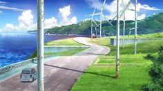 Baseball Field, Wind Turbine, Golf Courses, Wallpaper, Anime Stuff, Cyberpunk, Woods, Backgrounds, Photograph