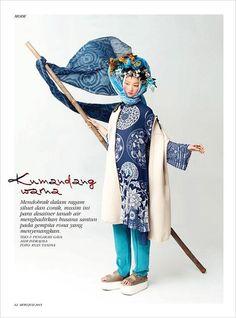Kumandang Warna by Ryan Tandya for Dewi Magazine 2105.