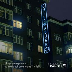 Innocence In Danger Digital Advert By Glow: Bring Child Abuse to Light | Ads of the World™