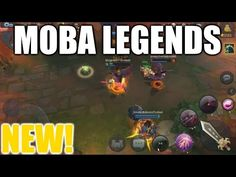 NEW MOBA for Android & iOS | MOBA Legends Gameplay Moba Legends, Ios, Video Games, Android, Videogames, Video Game