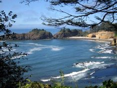 View from the luxurious Whale Cove Inn in Depoe Bay, along Highway 101 in Oregon