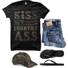 Love this! For more Cute n' Country visit… Cute Country Outfits, Country Girl Style, Country Fashion, Cute Outfits, Trendy Outfits, Country Music, Country Concerts, Country Wear, Country Attire