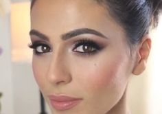 Gorgeous Bridal Makeup Tutorial! http://karasglamourblog.blogspot.com/2013/09/gorgeous-bridal-makeup-tutorial.html