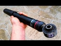 Do Not Throw Old Car Shock Absorber! Homemade Weapons, Homemade Tools, Diy Tools, Welded Metal Projects, Welding Art Projects, Homemade Tractor, Metal Bending Tools, Cool Garages, Electrical Projects