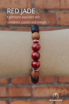 Jade is a gemstone that brings forward the energy of the warrior. It can aid in dispelling the fear, worry and doubt that can hold you back.#allkindsofkind #gemstonebracelet Allergy Free, Gemstone Bracelets, Allergies, Jade, Gemstones, Handmade, Hand Made, Gems, Jewels