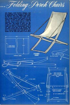 popular mechanics mai 52 06- folding porch chairs