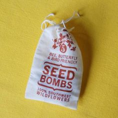 Seed Bombs: Southwest Wildflowers