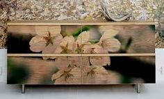 photo transfer on wood -