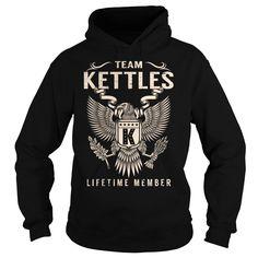 Team KETTLES Lifetime Member - Last Name, Surname T-Shirt