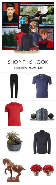"""""""Now, father, you're living in the past. This is the 14th century!"""" by aksmasads ❤ liked on Polyvore featuring Disney, Topman, 120% Lino, Elements, The French Bee, men's fashion and menswear"""