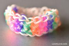 How to Make a Rainbow Loom Totem Pole Bracelet is fun, but ofly hard.I really enjoy making rainbow loom bracelets and I hope that you do too!