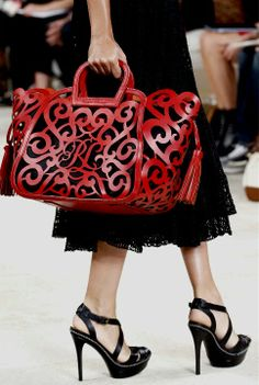 Ralph Lauren 2013 I am in love with the shoes and handbag!  I want this!
