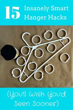 15 insanely smart hanger hacks - they're not just for your closet!