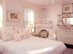 Camera da letto in stile shabby chic n.02