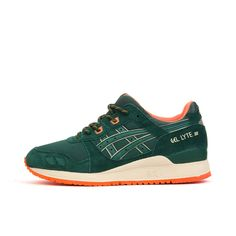 ASICS Gel-Lyte lll 'Outdoor Pack' Dark Green. Available at Concrete Store Papestraat   Concrete Store Amsterdam   WEBSHOP   #concretestore #dipyourfeetintotheconcrete #TheHague #Amsterdam #Asics #WMNS #Gel-lyte #3 #Outdoor #Pack #Footwear