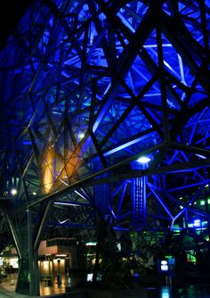 'Blue Steel'. Federation Square, Melbourne. © G.C.Campbell.