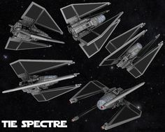 TIE Spectre by LoreleiStation on DeviantArt Star Wars Rpg, Star Wars Ships, Star Trek, Star Wars Spaceships, Star Wars Novels, Star Wars Design, Star Wars Vehicles, Galactic Republic, 3d Star