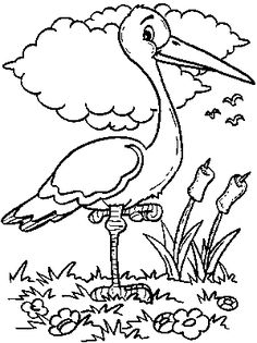 Bird Coloring Pages - Bing Images Bird Coloring Pages, Free Coloring, Coloring Pages For Kids, Coloring Sheets, Coloring Books, Drawing For Kids, Art For Kids, Easter Colors, Art Pages