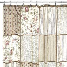 Glenmore Fabric Shower Curtain