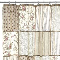 Glenmore Fabric Shower Curtain