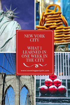 Traveling to New York City during the holidays was a bit more challenging than I envisioned.  Here is what I learned during our amazing week in the city.   New York City.  Be prepared and you will love your time spent.  I hope this helps.  #christmasinnewyork #newyorkcity