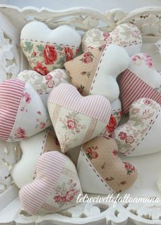 cuori patchwork - favors