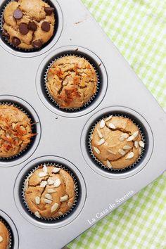 Flourless Peanut Butter Banana Muffins {Grain/Gluten/Dairy free}   > baking soda is nodig voor dit recept