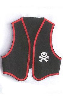 Chaleco pirata con calavera - Rakuten.es  Chaleco pirata con calavera: 03731 de Disfraces Bacanal | Compra en línea en Rakuten España