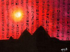 """SACRAS PROFECÍAS"" by Daniel Reynoso (Ankhsethamon). acrylic painting Movies, Movie Posters, Painting, Art, Paintings, Art Background, Films, Film Poster, Painting Art"