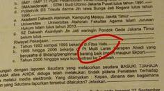 Inilah BAP Fitsa Hats Habib Novel Yang Jadi Tertawaan Netizen dan Jadi Viral
