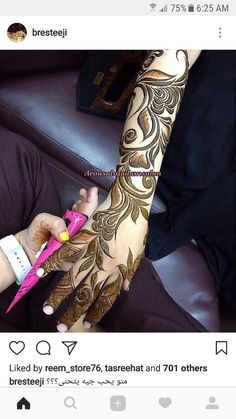 Kashee's Mehndi Designs, Pakistani Henna Designs, Arabic Bridal Mehndi Designs, Henna Flower Designs, Latest Henna Designs, Mehndi Designs For Beginners, Mehndi Design Pictures, Beautiful Henna Designs, Henna Designs