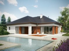 Wizualizacja SD BALOS A CE Gazebo, Outdoor Structures, How To Plan, Sd, Outdoor Decor, Modern, House, Home Decor, World