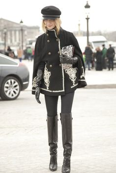 Paris Fashion Week Street Style | Fall 2013 Pictures