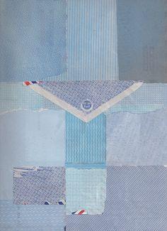 collage - art journal inspiration - Par Avion by susan j 2000, via Flickr
