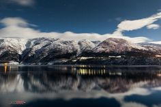 """""""Frozen fjords"""" - The Hardangerfjord, Norway. Photo by Rune Monsenat at 500px"""