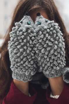 adorable (expensive) hedgehog mittens. reminds me of the jan brett book we read in grade 3