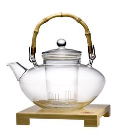 Take a look at this Tea for More Teapot & Stand by Teaposy on #zulily today!