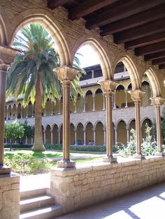Hidden Gems in Barcelona:  Pedralbes Monastery: Stroll the grounds at Pedralbes Monastery by Chris Ciolli.  This Gothic Monastery houses collections from Barcelona's City History Museum, but if you've only got an hour a so, skip the exhibits in favor of a walk around. Founded by King James II of aragon in 1326, the Monastery or Monestir in Catalan, is a welcome oasis after time in Barcelona's hectic city center. Three floors of cloisters frame beautiful garden crowded with orange trees…