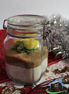 Il preparato per torta margherita è un pratico regalo home-made.