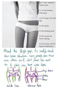 Leg gap ☺