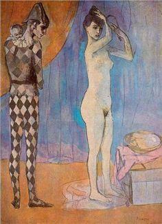 Harlequin's family - Pablo Picasso, 1905