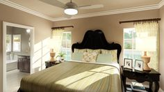 Your new master bedroom will feel like a well-deserved retreat. Get it just right with a custom home from UBH.