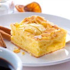 Quick apple pie from batter - kuchen - cake recipes Easy German Recipes, Sweet Recipes, Healthy Cake Recipes, Mexican Food Recipes, Pie Recipes, Vanilla Coffee Cake Recipe, German Baking, Cake & Co, Breakfast Dessert