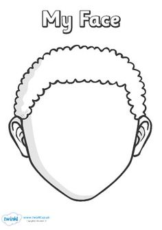 face parts coloring pages - photo#31