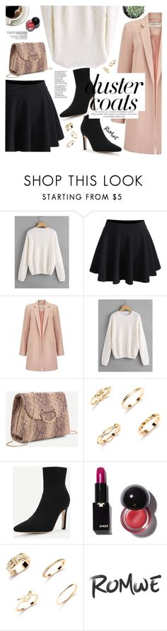 """Duster coat"" by yexyka ❤ liked on Polyvore featuring Miss Selfridge"