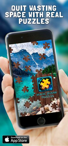 The huge collection of puzzles is in your pocket. Download Magic Jigsaw Puzzles for free!