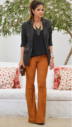 Not usually a fan of orange, but I'm into this style of pant.