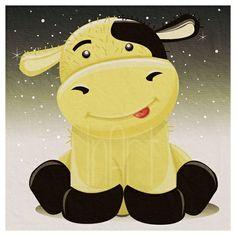 Ku(galskap) - Illustrasjon (cow - illustration)