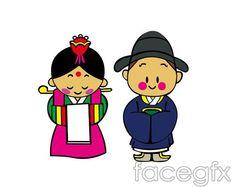 korean clipart korean girls 9044527 jpg 1300 1206 cuties rh pinterest co uk clipart korean child clipart korean flag